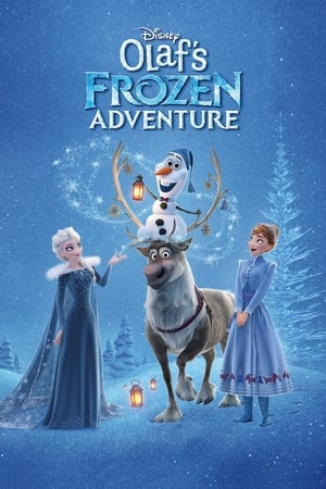 Poster Movie Olaf's Frozen Adventure 2017