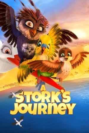 Poster Movie A Stork's Journey 2017