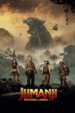 Poster Movie Jumanji: Welcome to the Jungle 2017