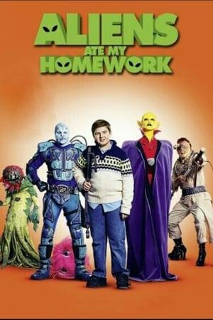 Poster Movie Aliens Ate My Homework 2018