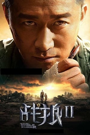 Poster Movie Wolf Warrior 2 2017