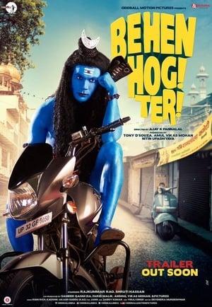 Poster Movie Behen Hogi Teri 2017