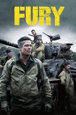 Poster Movie Fury 2014
