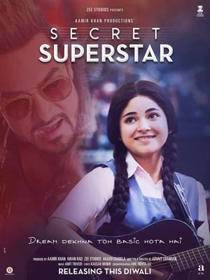 Poster Movie Secret Superstar 2017