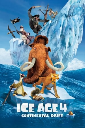 Poster Movie Ice Age: Continental Drift 2012