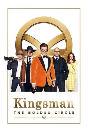 Poster Movie Kingsman: The Golden Circle 2017