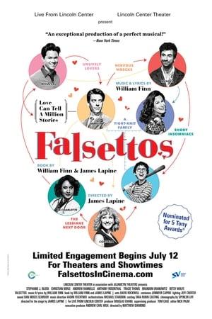 Poster Movie Falsettos 2017