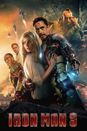 Poster Movie Iron Man 3 2013