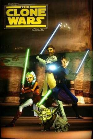 poster Star Wars: The Clone Wars