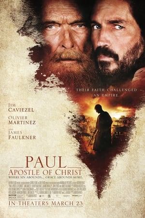Poster Movie Paul, Apostle of Christ 2018