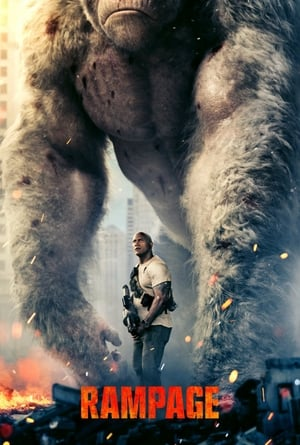 Poster Movie Rampage 2018