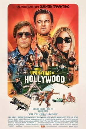 poster Once Upon a Time… in Hollywood