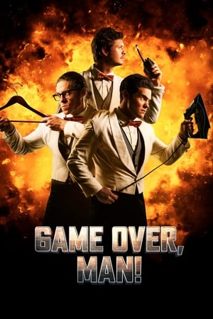 Poster Movie Game Over, Man! 2018