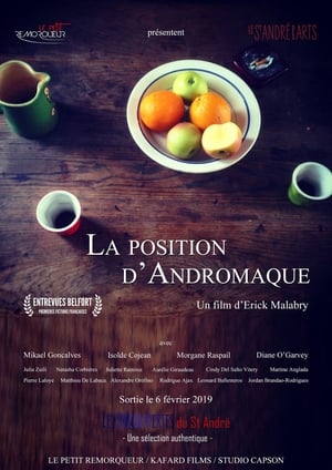 Poster Movie La Position d'Andromaque 2019