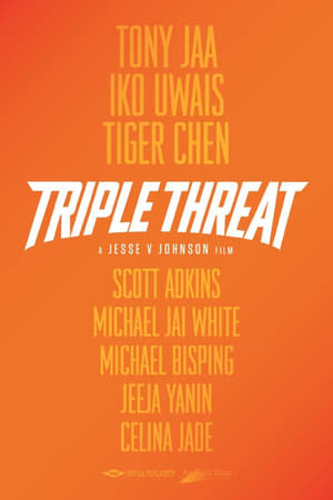 Poster Movie Triple Threat 2018