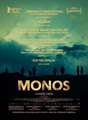Poster Movie Monos 2019
