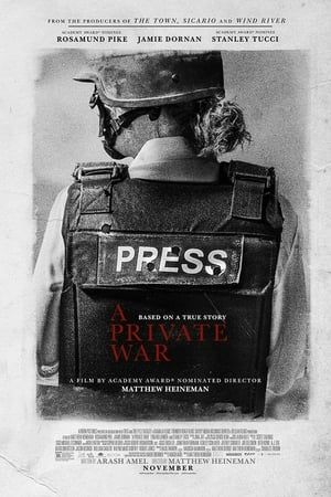 Poster Movie A Private War 2018