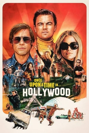 Poster Movie Once Upon a Time in Hollywood 2019