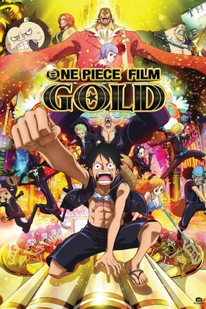 Poster Movie One Piece Film: GOLD 2016