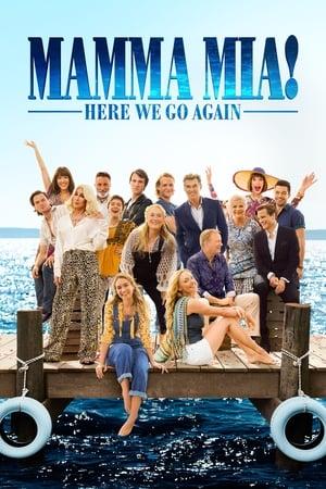 Poster Movie Mamma Mia! Here We Go Again 2018