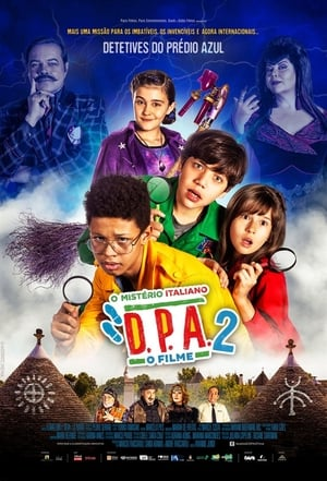 Poster Movie Detetives do Prédio Azul 2 - O Mistério Italiano 2019