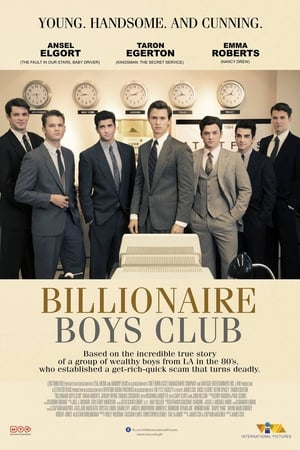 Poster Movie Billionaire Boys Club 2018