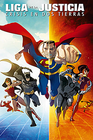 poster Justice League: Crisis on Two Earths