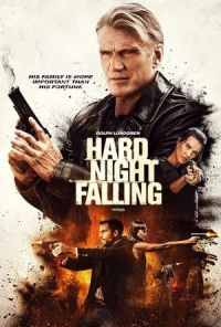 Poster de la Peli Hard Night Falling