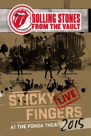 Poster Movie The Rolling Stones - From The Vault - Sticky Fingers Live At The Fonda Theatre 2015 2017