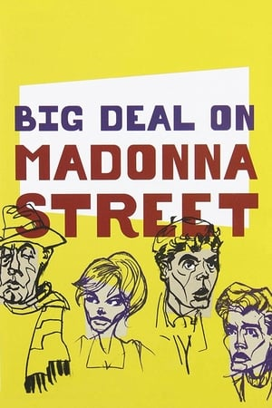 Poster Movie Big Deal on Madonna Street 1958