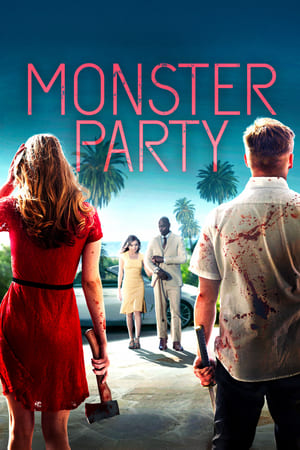 Poster Movie Monster Party 2018
