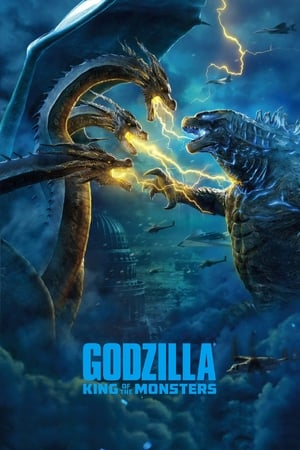 Poster Movie Godzilla: King of the Monsters 2019