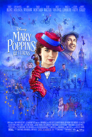 Poster Movie Mary Poppins Returns 2018