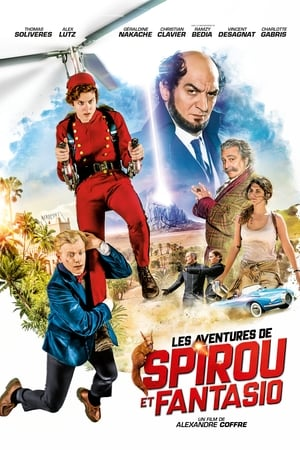 Poster Movie Spirou & Fantasio's Big Adventures 2018