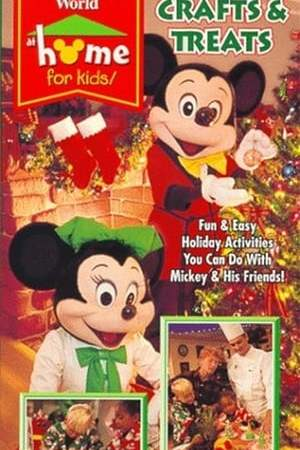 Image Walt Disney World at Home for Kids: Holiday Crafts and Treats