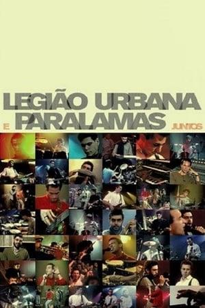 Poster Movie Legião Urbana e Paralamas Juntos 2016