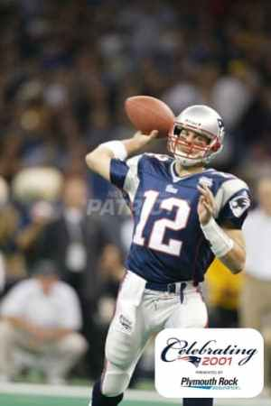 America's Game: 2001 New England Patriots