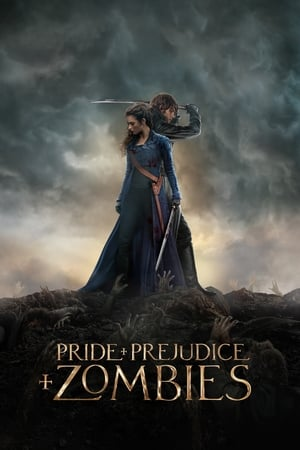 Poster Movie Pride and Prejudice and Zombies 2016