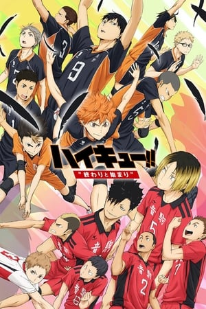 poster Haikyuu!! The Movie: The End and the Beginning