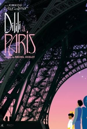 Poster Movie Dilili in Paris 2018