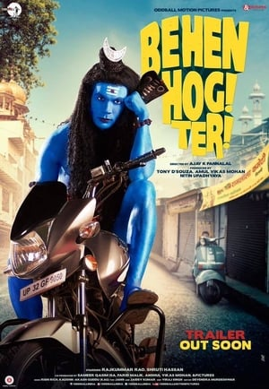 Poster Movie Behen Hogi Teri 2017