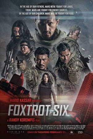 Poster Movie Foxtrot Six 2019