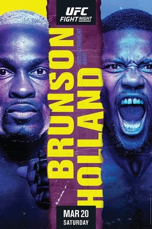poster UFC on ESPN 21: Brunson vs. Holland