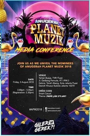 Poster Movie Anugerah Planet Muzik 2018