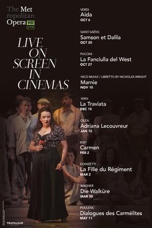 Poster Movie Aida - Met Opera Live 2018