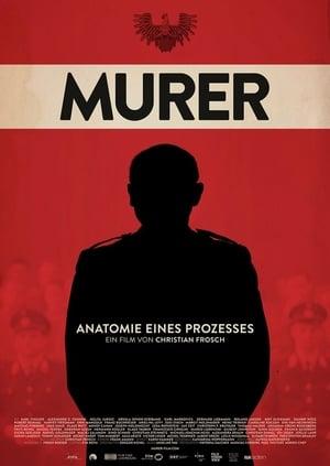 Poster Movie Murer: Anatomie eines Prozesses 2018