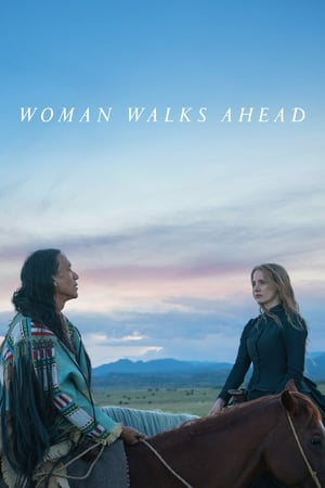 Poster Movie Woman Walks Ahead 2018