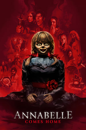 Poster Movie Annabelle Comes Home 2019