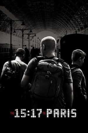 Poster Movie The 15:17 to Paris 2018