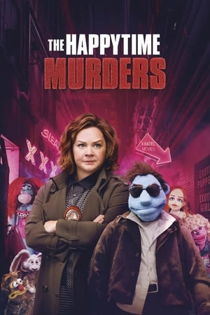 Poster Movie The Happytime Murders 2018